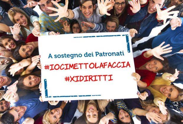 Patronati: al via la campagna #iocimettolafaccia #xidiritti