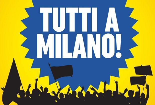 Terziario: manifestazione a Milano