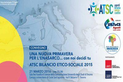 Convegno Enasarco: ATSC bilancio etico-sociale 2015