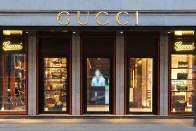 Gucci retail, coordinamento unitario