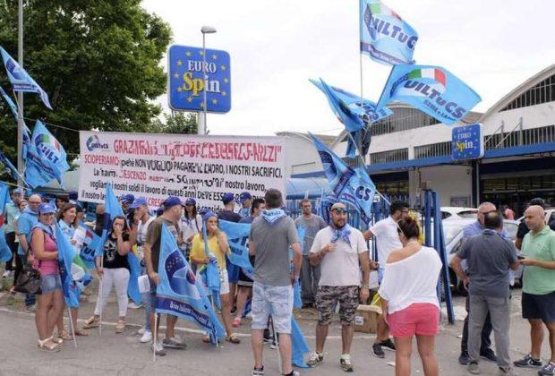"""Eurospin Latina, """"lo sciopero era giusto"""": il Tribunale dà ragione ai lavoratori e alla UILTuCS"""
