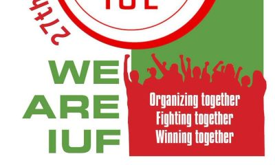 Organizing, fighting and winning together: il 27° Congresso IUF