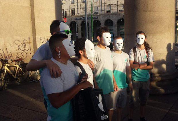 """Flash mob delivery, Uiltucs: """"Solidarietà, pronti a discutere con le aziende"""""""