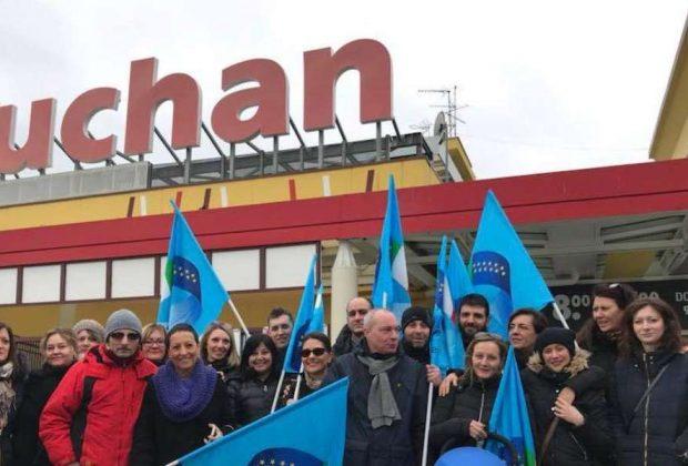 Auchan, incontro a Roma