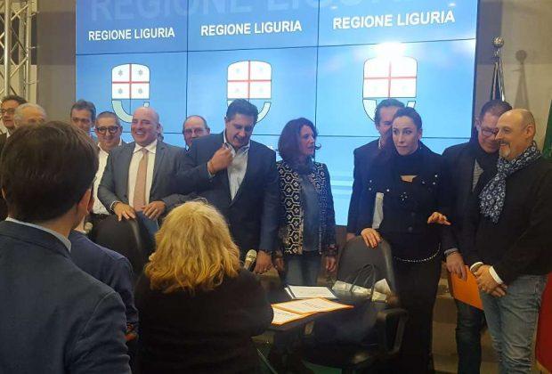 Liguria, in Regione firmato il patto per il turismo
