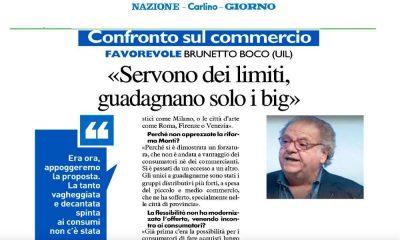 """Orari e liberalizzazione, Boco intervistato oggi su La Nazione: """"Limiti necessari"""""""