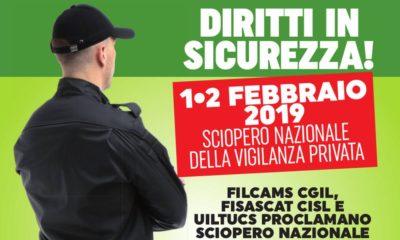 Sciopero Vigilanza e Sicurezza, informazioni sulle manifestazioni a Milano e Napoli