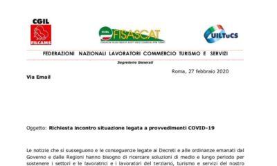 """Coronavirus, lettere dei sindacati: """"Coordinamento decisioni, evitare scelte unilaterali"""""""