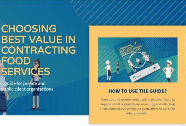 Ristorazione collettiva, online la guida europea sugli appalti