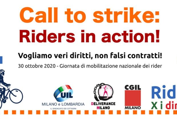 Call to strike: rider in action!
